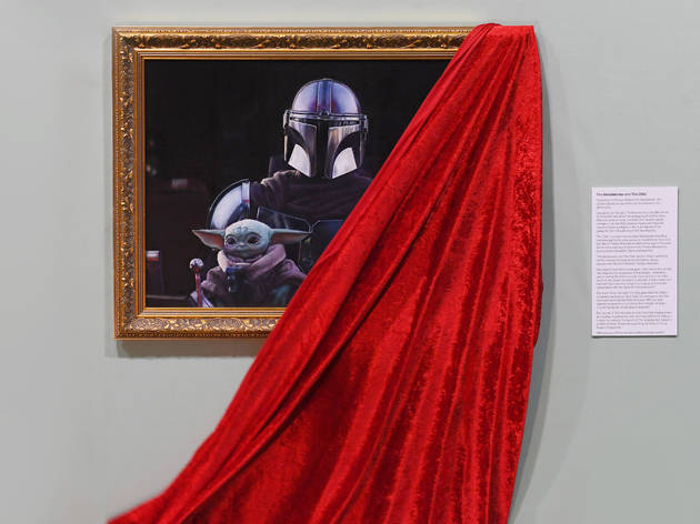 Baby Yoda is coming to the National Portrait Gallery (kinda)