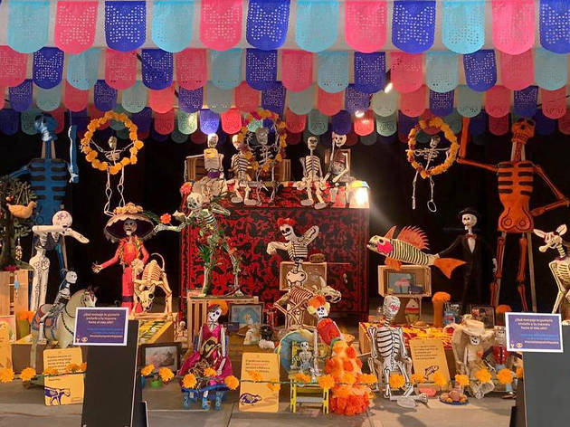 Día de Muertos en Papalote Museo del Niño