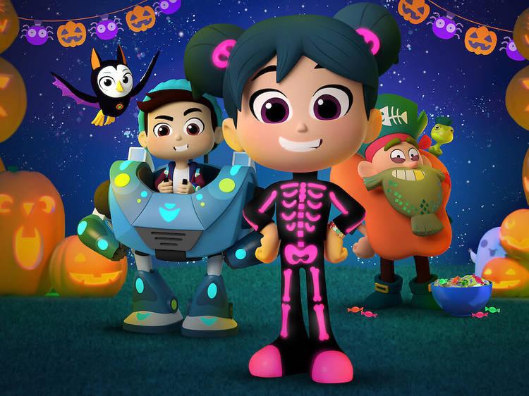 StarBeam: a heroína do Halloween