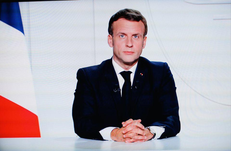 Emmanuel Macron annonce un confinement à partir de vendredi