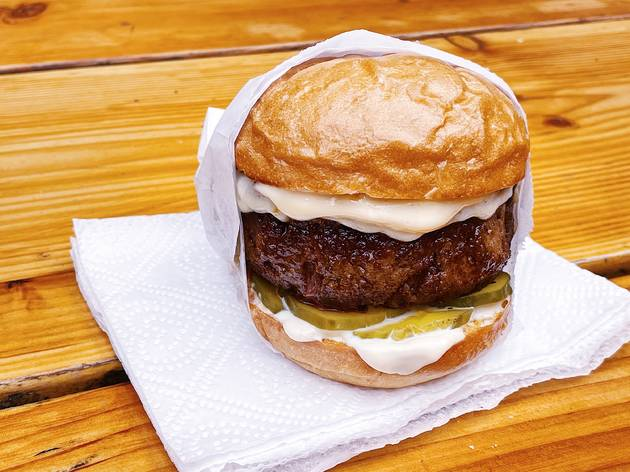 Amboy Quality Meats & Delicious Burgers DH Burger