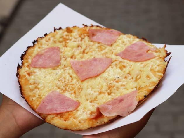 Cuban pizza