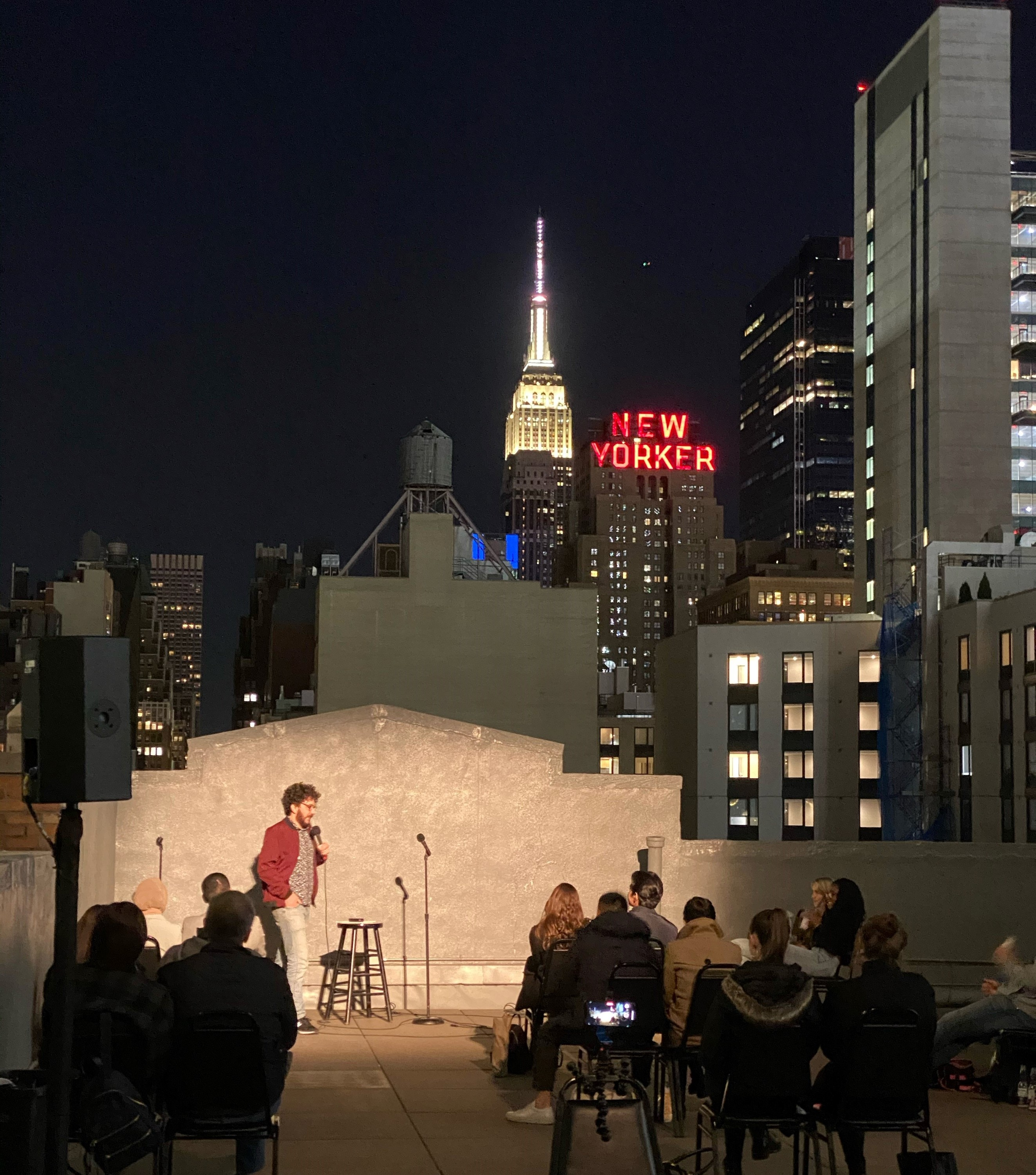 New York Comedy Club at Hudson Mercantile Rooftop