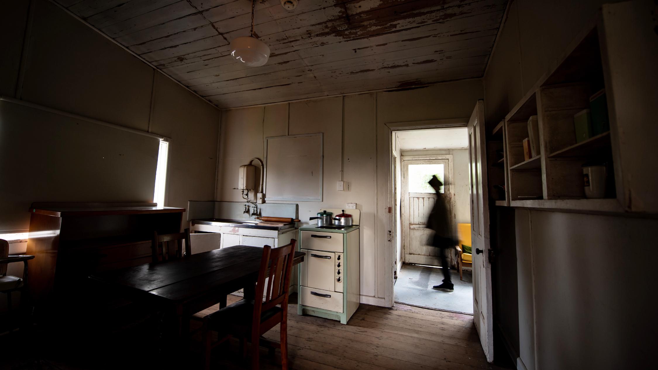 The Gravedigger's Cottage kitchen
