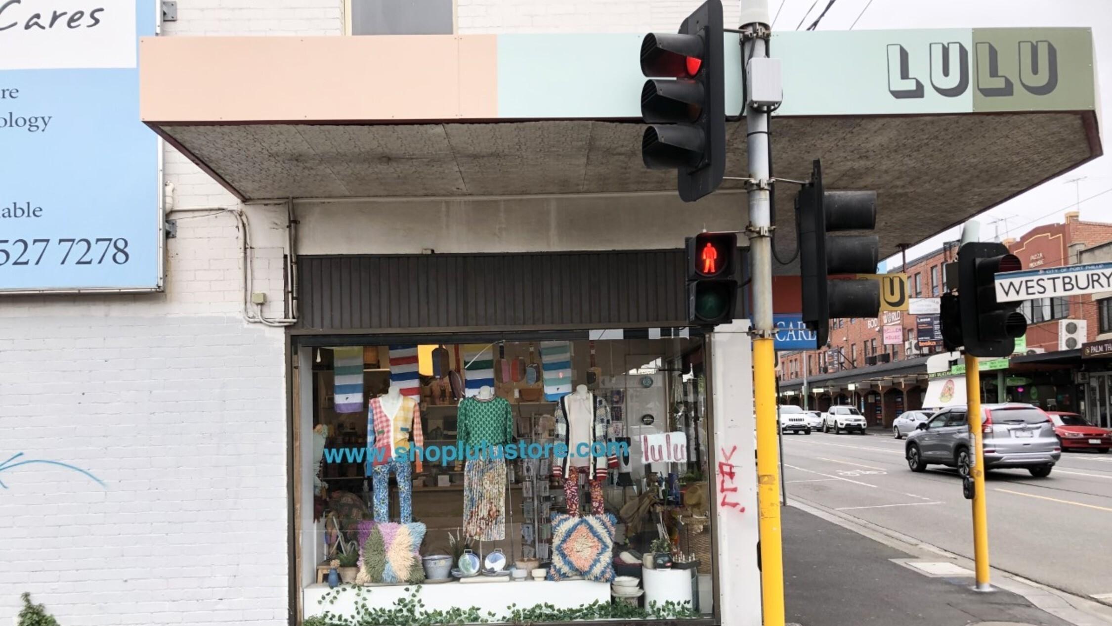 Lulu Balaclava shopfront