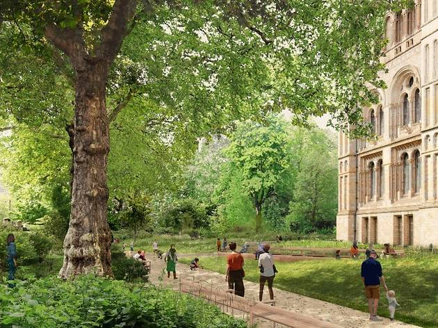 The Natural History Museum's five-acre gardens to become national centre for urban nature