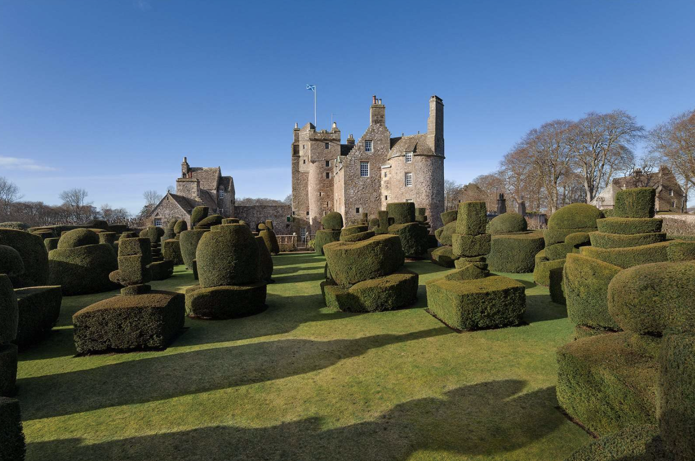 This ancient haunted castle in Scotland is now for sale
