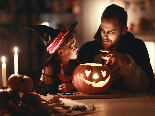 Celebrar Halloween a casa