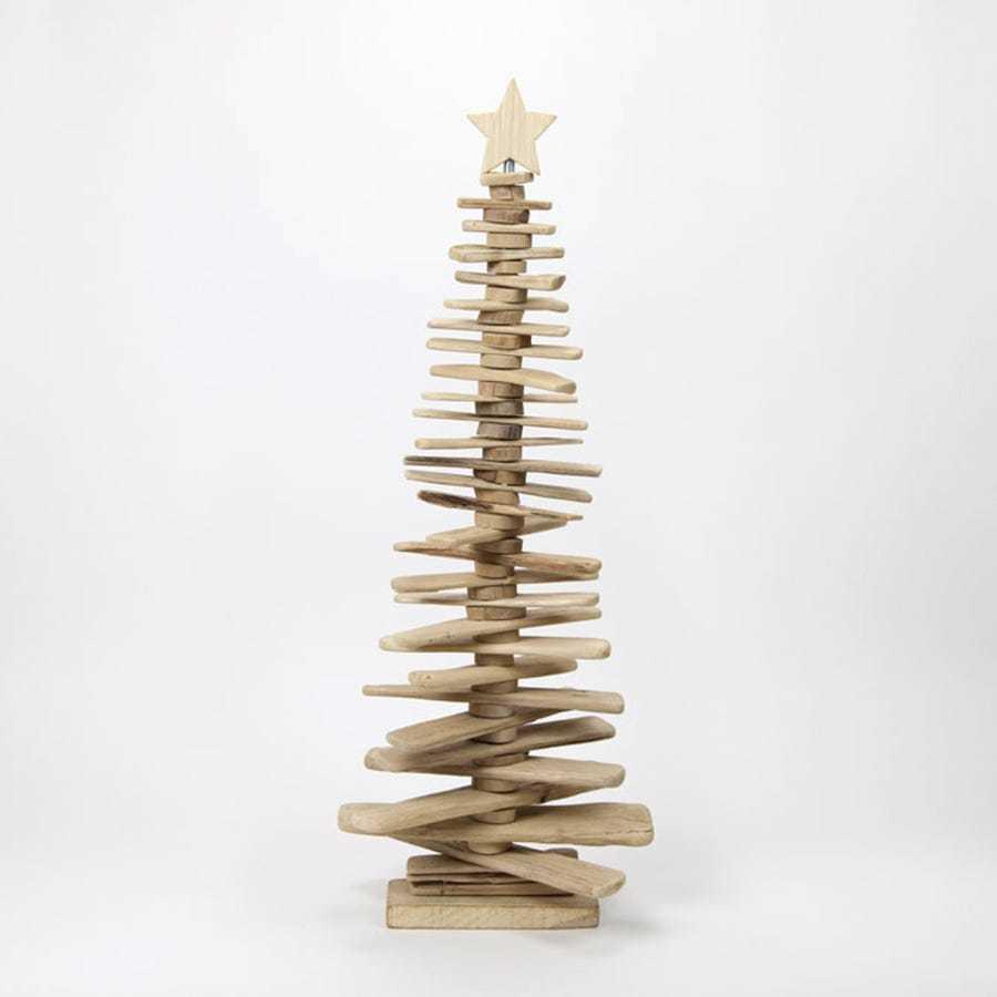 Árbol de madera 3D