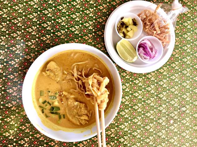 Khao soi at Northern Thai Food Club