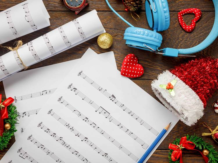 The jolliest Christmas songs for kids