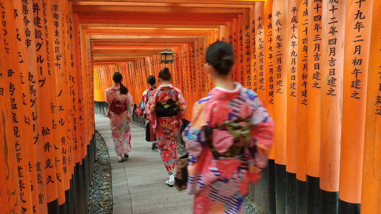 Fushimi Inari Shrine, Kyoto temple