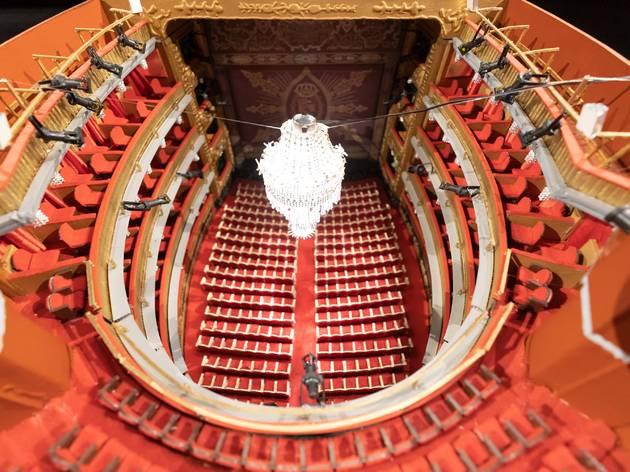 Exposición  maquetas Teatro Español