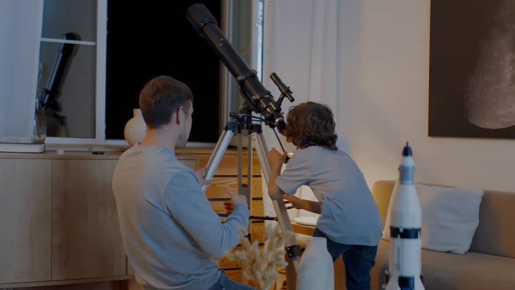 Semana de la Ciencia. Observación astronómica