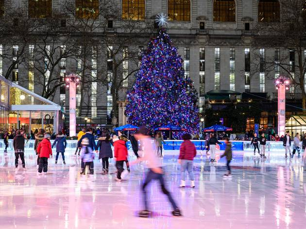 Skate reservations opened for Bank of America Winter Village at Bryant Park