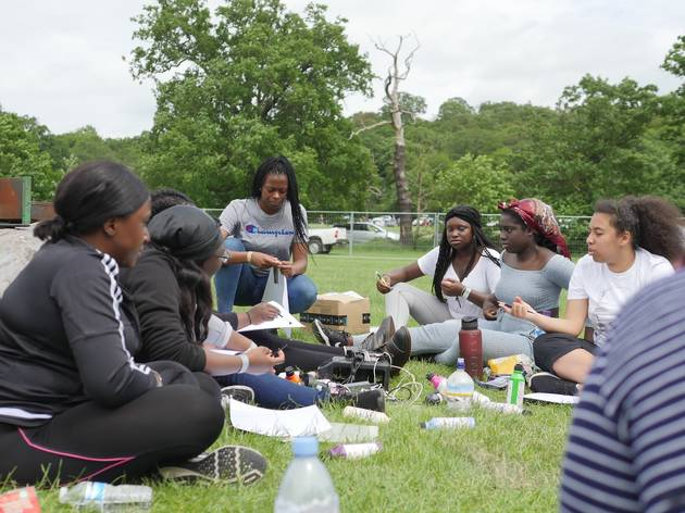 Meet the founder of Black Girls Camping