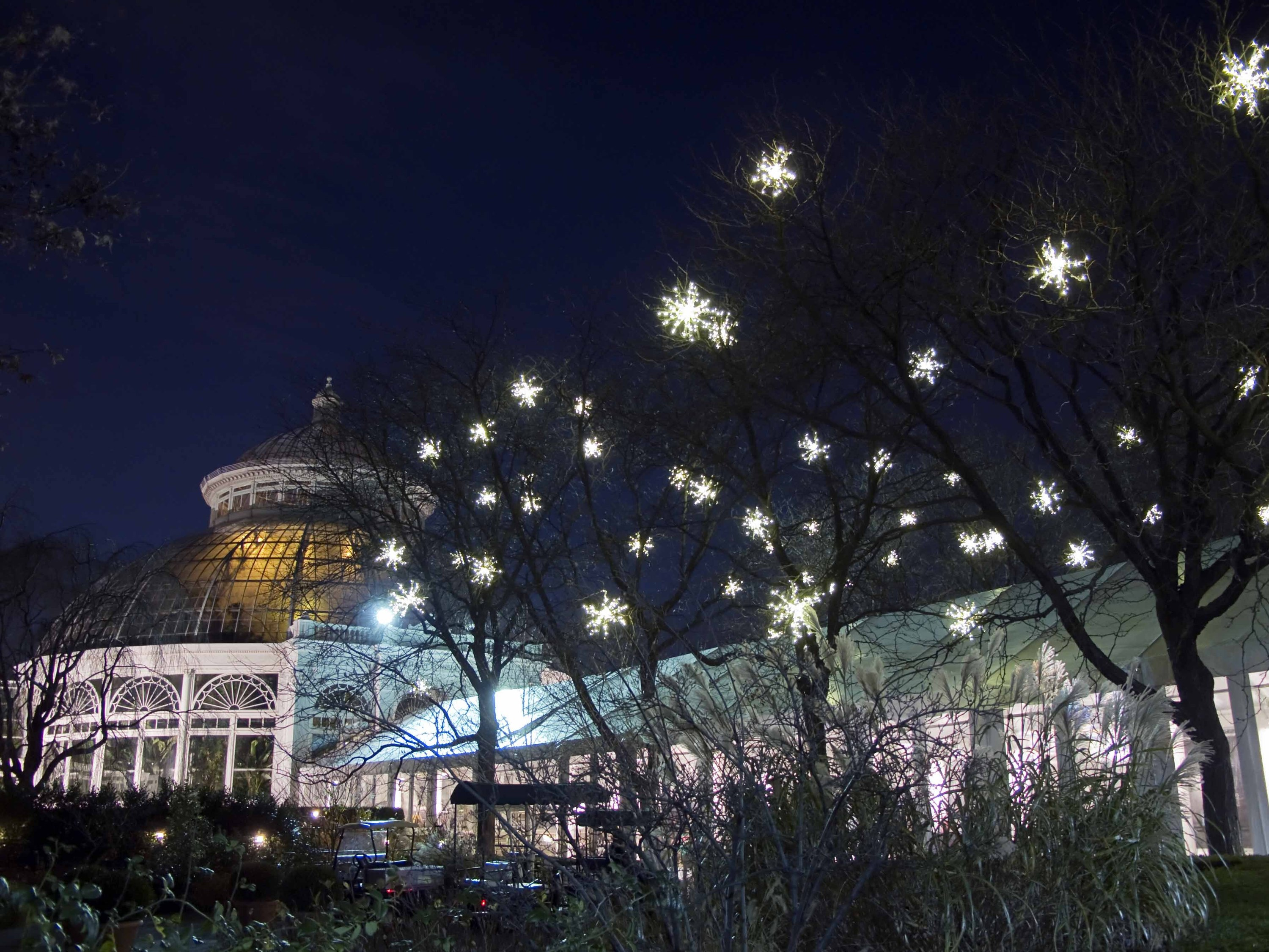 New York Botanical Garden will ring in the holidays with a new light experience