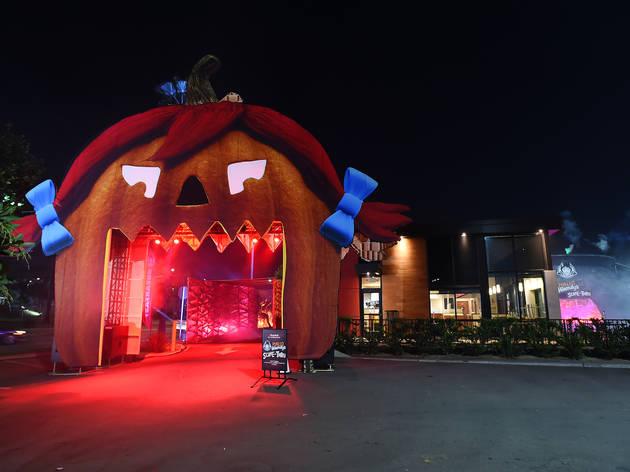 Wendy's Halloween Scare-Thru Drive thru event