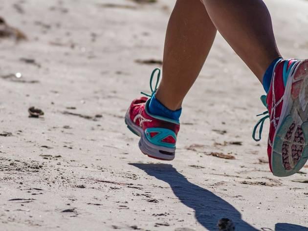 running, asics