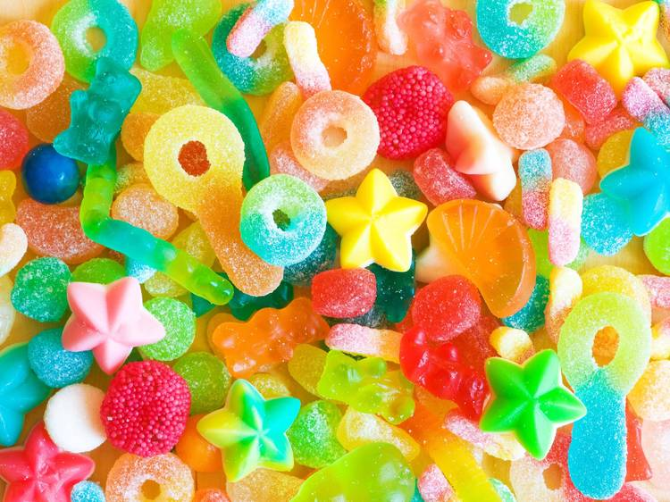 Have an indoor candy scavenger hunt