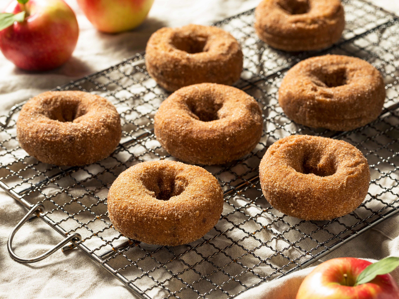 Snag some apple cider donuts