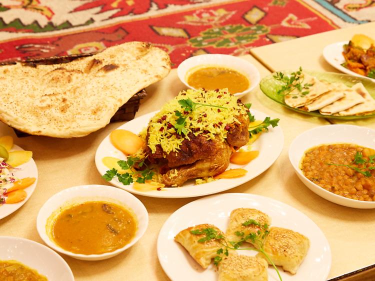 イラン:レストラン ザクロ