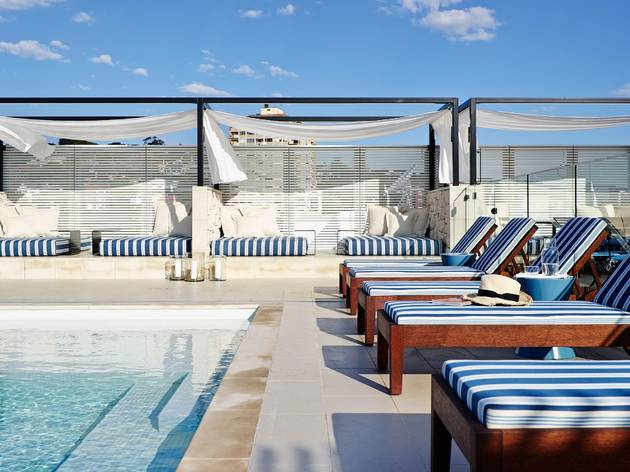 Rooftop pool at the InterContinental Double Bay