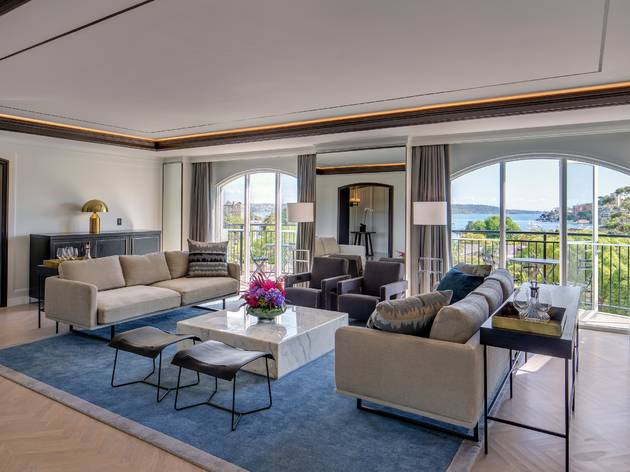 Royal Suite at the InterContinental Double Bay