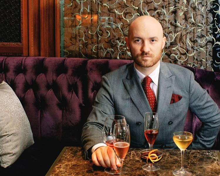 最佳調酒師:Lorenzo Antinori(Caprice Bar)