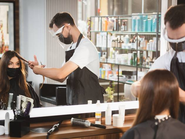 When will hairdressers and beauty salons reopen in the UK?