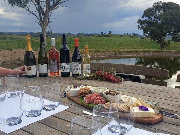 Tasting by Exclusively Mudgee at Glenayr Farm Glamping.