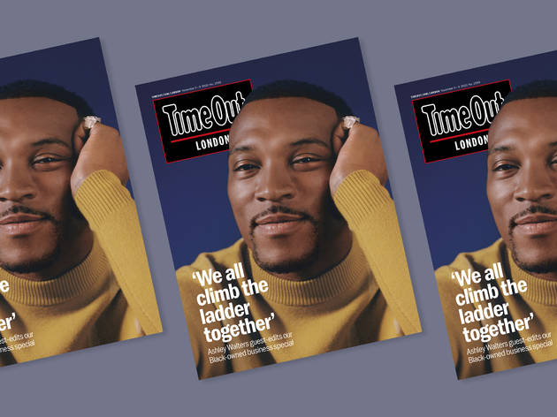 Ashley Walters Time Out magazine cover