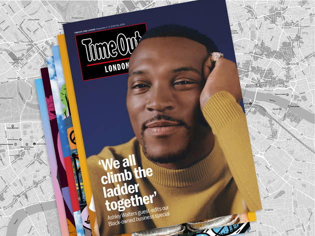 Time Out Magazine guest-edited by Ashley Walters