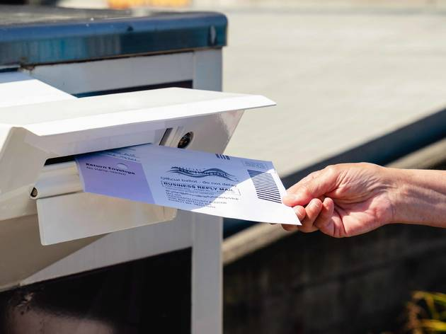 Mail-In Ballot, vote, voting, election