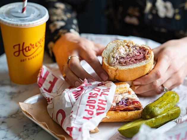Harvey's hot sandwiches