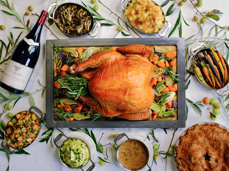 Your Thanksgiving dinner to-go