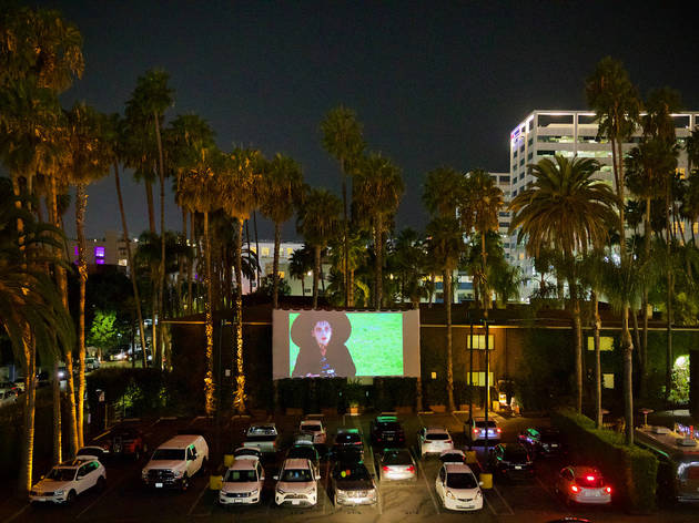 The Drive-In Theatre at the Hollywood Roosevelt