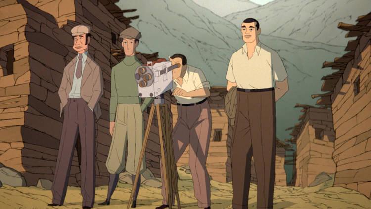 Buñuel en el laberinto de las tortugas, película animada sobre el director español