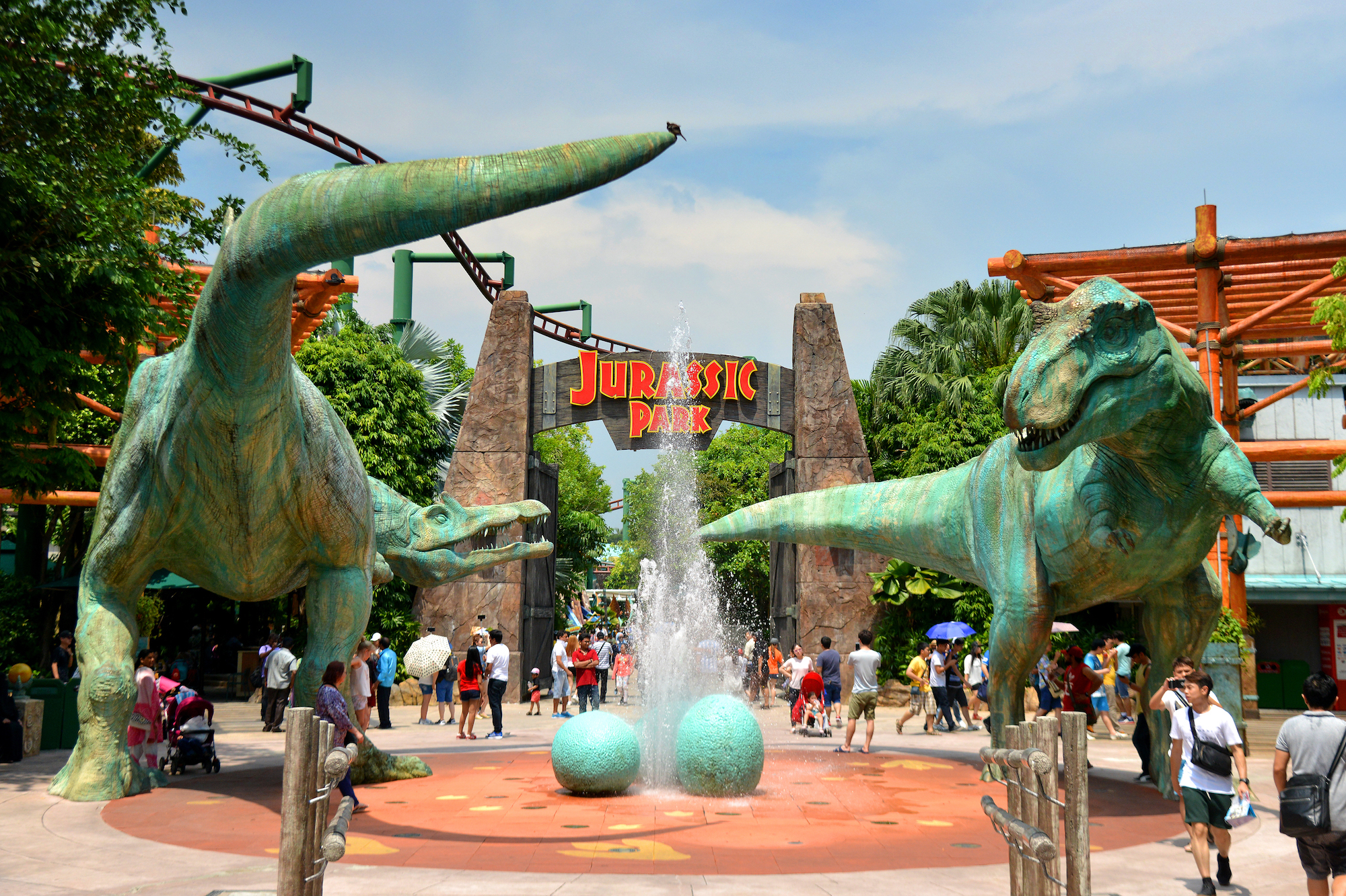 Jurassic Park, Universal Studios Singapore