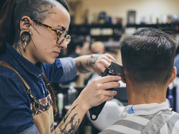 Barbers Crew. Peluquería para hombres y barbería