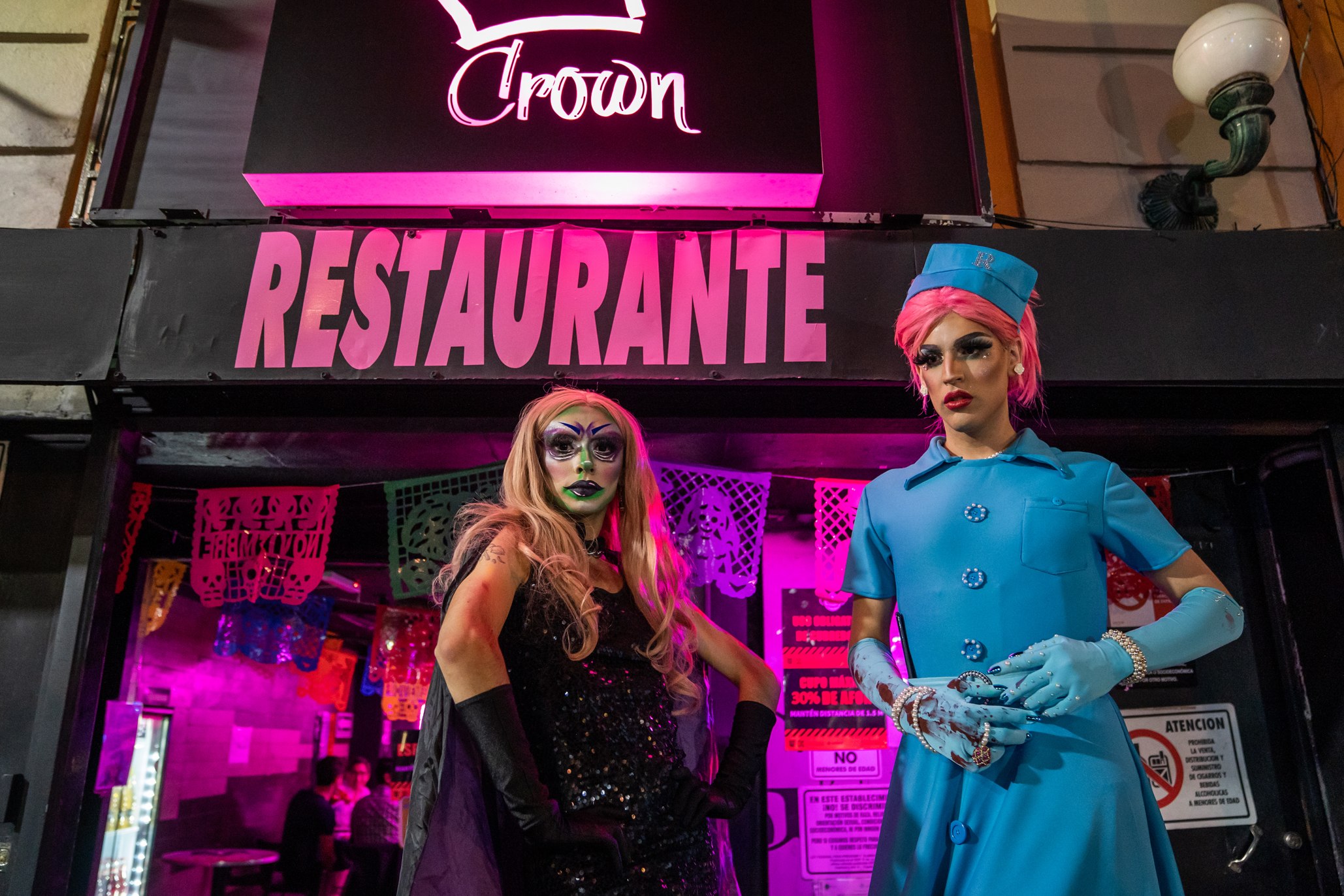 Crown, antro gay, zona rosa, restaurante bar