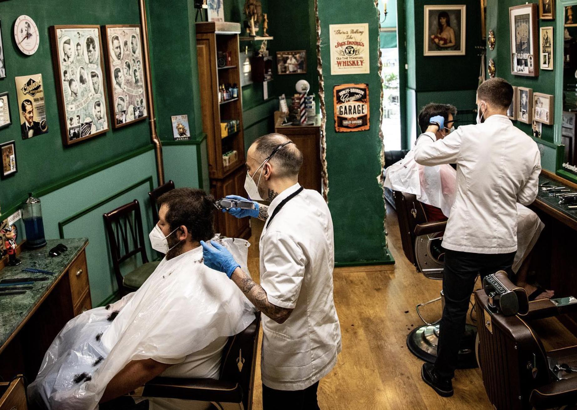 Chamberí 5. Barbería y peluquería old schoool