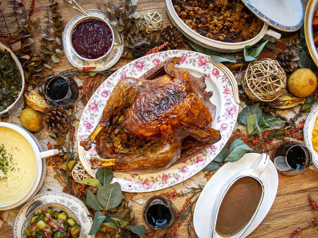 Virtue Thanksgiving feast