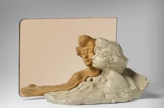 'Cap de dona i mirall', de Lambert Escaler i Milà