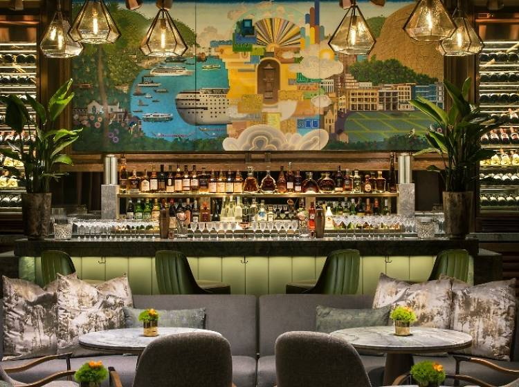 最佳酒店酒吧:瑞吉酒吧(香港瑞吉酒店)