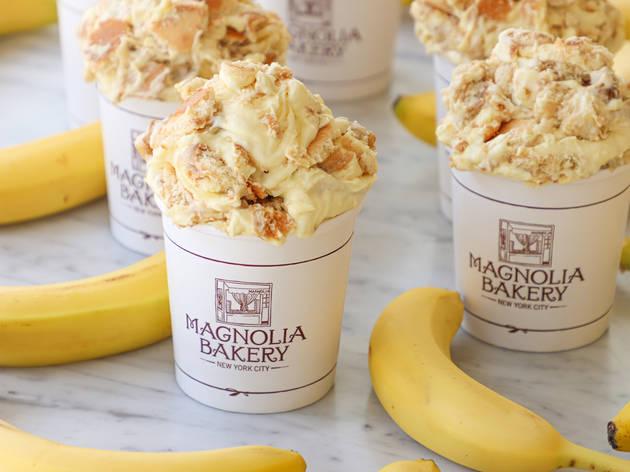Banana pudding Magnolia Bakery