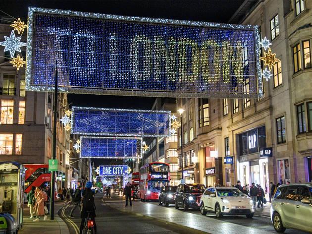 Shining Christmas lights for you to explore