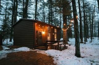 Airbnb, Wisconsin, cabin