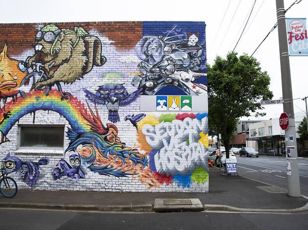 Seddon streets