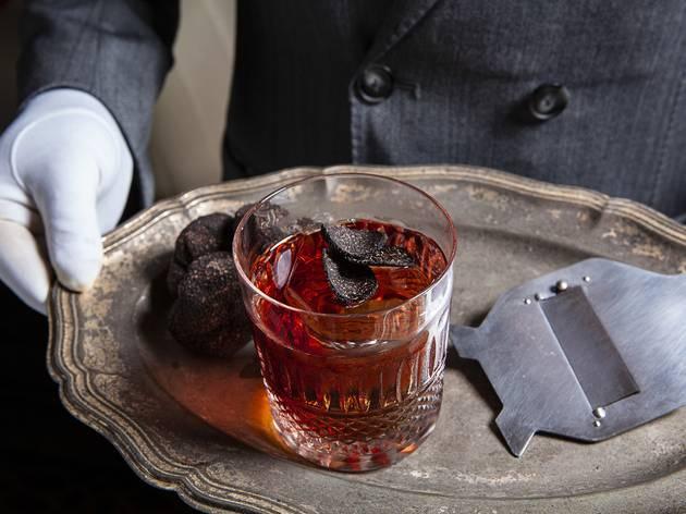 Truffle Negroni, Caprice Bar